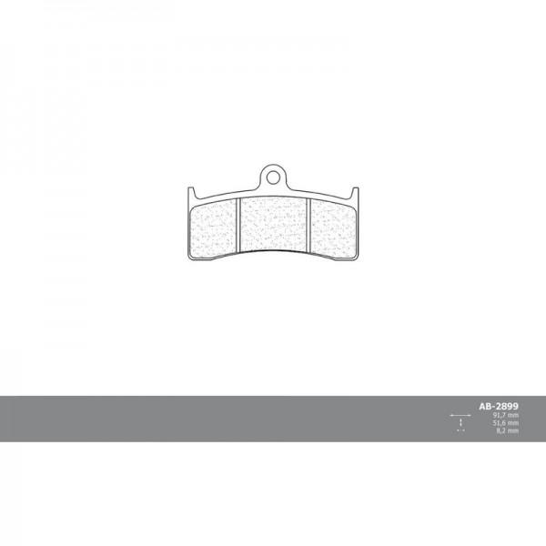 Vordere RACING Bremsbeläge für MV Agusta F4 2004 - 2006 Nissin