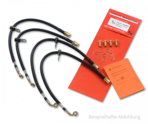 Stahlflex Bremsleitung Vorne für BMW R 1150 GS (R21) m.ABS