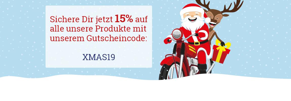15% Weihnachtsgutschein von Fischer-hydraulik